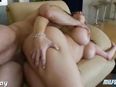 Milf sara jay enjoys big cock