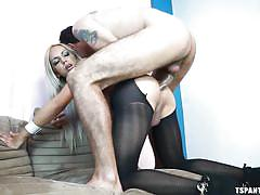 tattoo, blonde, pantyhose, cumshot, blowjob, kissing, shemale big boobs, transsexual, tranny babe, ts pantyhose, tranny pack, sheylla wandergirlt