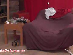 Amateur czech couple dirty talking and interview