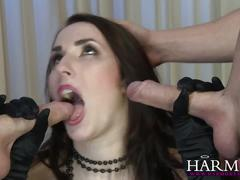Harmonyvision paige turnah loves to fuck two men