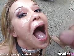 Gorgeous blonde sasha knox gets ass fucked hard