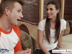 Sinfully brunette casey calvert fuck her neighbor