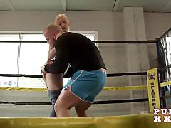 Pure xxx films horny teen fucks the boxing instructor