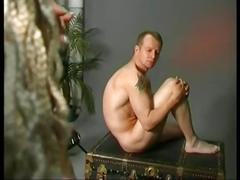 Milf fucks nude modelman