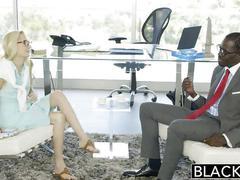 Blacked hot assistant odette delacroix first bbc