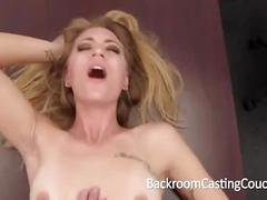 anal, cum, blonde, creampie, blowjob, pov, assfuck, casting, audition, couch, tall, painal