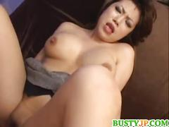 asian, big tits, cumshot, threesome, hardcore,