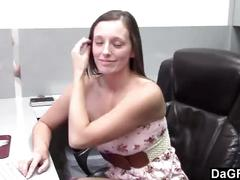 Intern fucked by her boss