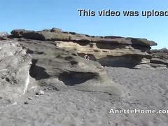 Masturbation a la plage avec milf amatrice francaise en cam