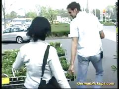 Picked up german teen for anal sex
