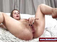 Juicy cherry babes analplay and piss fun