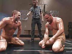 Bondage gay fucking
