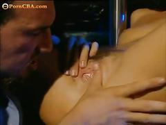 Anal sex in striptease bar
