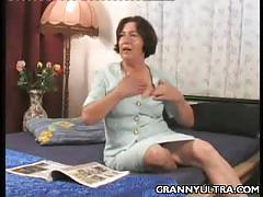 Gilf mitzi loves to tease with her big natural tis