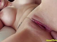 Bigtit girlfriend assfucked and fingered