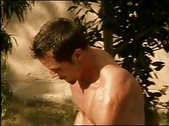 Busty babe wild pool sex