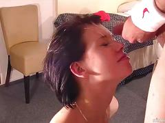 Blowjob and cumshot compilation
