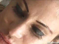 Shelia marie uses her milf charm and strokes dick