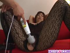 Huge titted naho hazuki so wet with sex toys