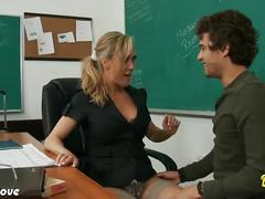 Brandi love is horny teacher