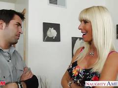 big tits, blonde, hardcore, milf,