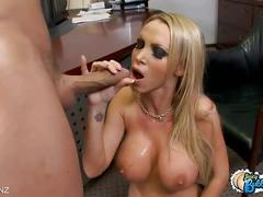 Naughty manager nikki benz wild fucking a fresher