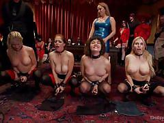 blonde, bdsm, babe, public, stockings, humiliation, vibrator, brunette, sex slaves, the upper floor, kink, simone sonay, bill bailey, penny pax, christie stevens, yhivi, aiden starr, ramon nomar