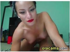 Sexy babe live on olacams.com