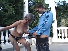 70 year old granny likes to fuck her grandson