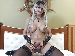 blonde, big ass, solo, stockings, ladyboy, jerking off, shemale big boobs, boobs groping, tranny babe, shemale solos, tranny access, ana kelly
