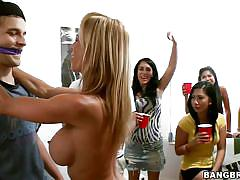 Student gets one on one time with rachel starr