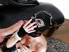 Kinky brunette in latex loves anal @ cream dreams #03