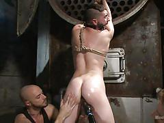 tattoo, threesome, gay bdsm, gays, tied up, gay handjob, ass fucking, gay domination, rope bondage, men on edge, kink men, jackson fillmore