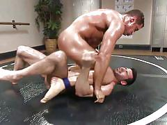 anal, ass fingering, hand job, muscled, fighting, gay, gay wrestling, oiled up gay, naked kombat, kink men, nick capra, billy santoro