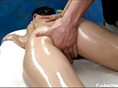 Callie cyprus gets erotic oily massage