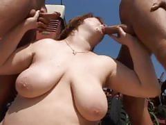 hardcore, outdoor, interracial, threesome, fat, chubby, bbw, chunky, farm, mmf, spoon, plumper, missionary