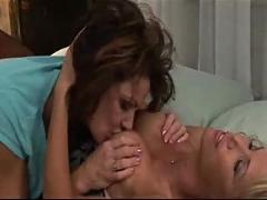 Mature woman seduces younger - sensual - strap-on - part 1