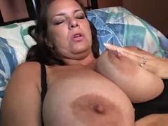 Chubby big titty milf.