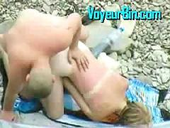 voyeur, amateur, homemade, couple, hidden, fuck, sex, caught, beach, blowjob