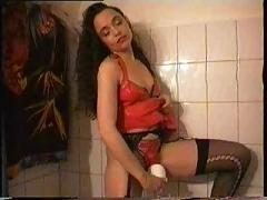 My ex girl as a pornostar wet play