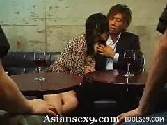 Maria ozawa nasty japanese whore on her knees showing her hot ass