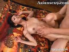 Maria ozawa gets her big tits rubbed and her pussy fucked
