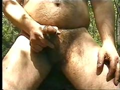 cum, outdoor, outdoors, woods, jerkoff, masterbation