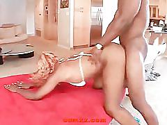 Big ass ebony pounding and facesitting