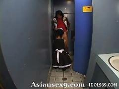 Maria ozawa naughty asian maid is also a horny japanese slut