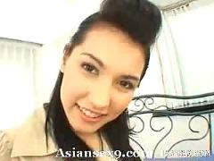 Maria ozawa naughty asian slut shows her big tits and her wet pussy