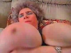 German big tits granny