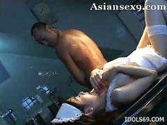 Mai yamazaki naughty asian nurse fucks at work