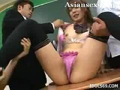 Aya fugimoto hot asian babe is a busty schoolgirl who enjoys sex