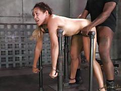 Captive whore offering sexual favors